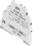 Електромеханическое интерфейсное реле  SER1-230ACDC