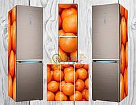 Дизайнерские наклейки на холодильник Фрукты