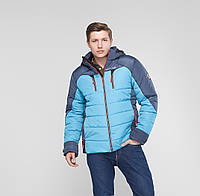 """Зимняя мужская спортивная куртка """"Sport"""" голубой"""