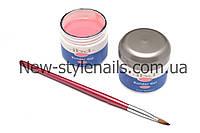 Гель для наращивания ногтей, IBD натурально-розовый камуфляж, фото 1