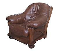 """Классическое кожаное кресло """"Hammer"""" (Хаммер). (108 см)"""