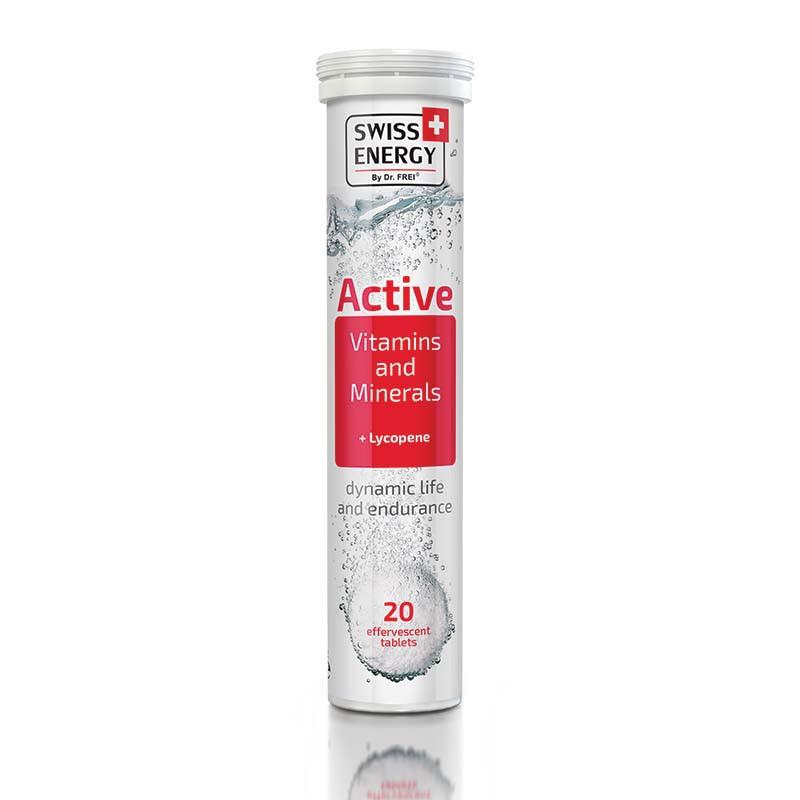 Витамины шипучие Swiss Energy Aсtive №20