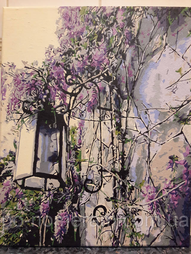 Отзыв о картине по Mariposa Сиреневый фонарь MR-Q442