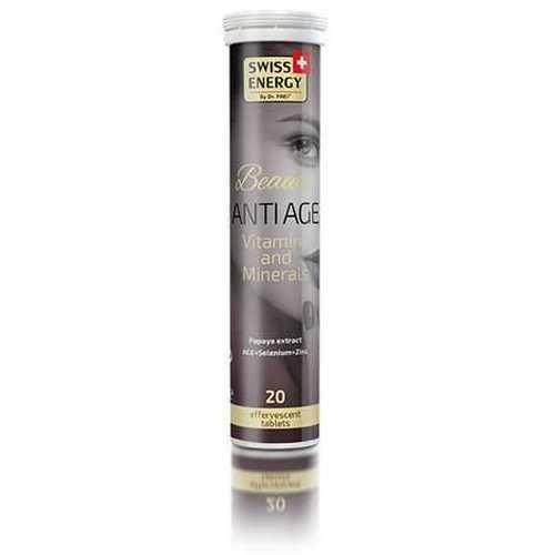 Шипучі вітаміни Swiss Energy Beauty Antiage №20