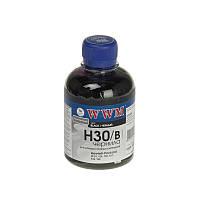 Чернила WWM для HP C8767/C8765/C9362 Black 200г (H30/B)