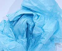 Купить бумагу тишью, голубая 50х66 см.