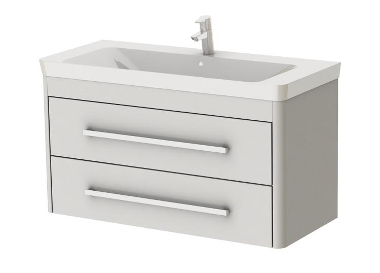 Тумба для ванной Juventa Geneva Gn-105 с умывальником Luxury-105