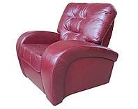 """Мягкое кожаное кресло """"Vincent"""" (Винцент). (107 см)"""
