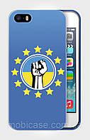 "Чехол для для iPhone 4/4s""UKRAINE IN EU 2"""