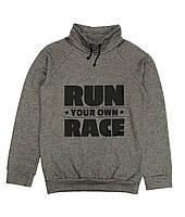 Толстовка B-004 меланж Ran Race