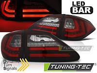 Фонари светодиодные LEXUS RX III 350 (LED BAR) красно-белые