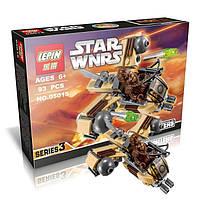 Конструктор LEPIN 05015 аналог LEGO 75129 боевой корабль Вуки