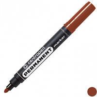 Маркер перманентный 2,5 мм Centropen коричневый, 8566/07