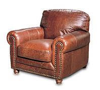 """Мягкое кожаное кресло """"OREGON"""" (Орегон). (110 см)"""
