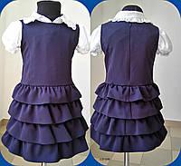 Платье для школьниц 630 (09)