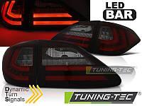 Фонари светодиодные LEXUS RX III 350 (LED BAR) красно-тонированные