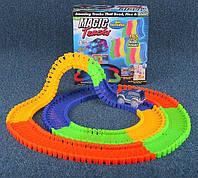Детская игрушечная дорога трек  MAGIC TRACKS с машинкой 220 деталей (оригинал)