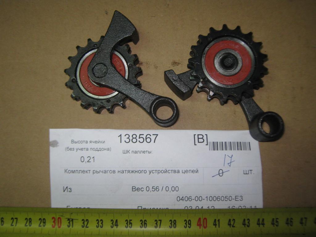 Комплект рычагов натяжного устройства цепей 0406-00-1006050-Е3