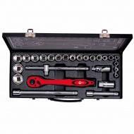 Профессиональный набор инструментов Intertool ET-6027. 26 единиц