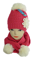 Комплект шапкаи шарф-хомут
