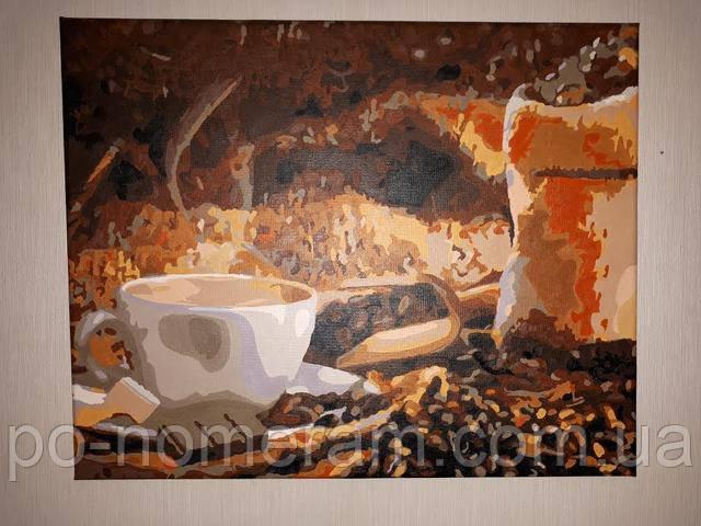 Раскраска по цифрам Mariposa Кофе с шоколадом MR-Q1951