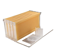 Австралийский улей Flow Hive рамка извлечение мёда без вскрытия, соты пластиковые (цена за 1 шт), фото 1