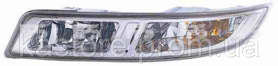 Противотуманная фара для Nissan Almera 06-12 правая (Depo) обманка