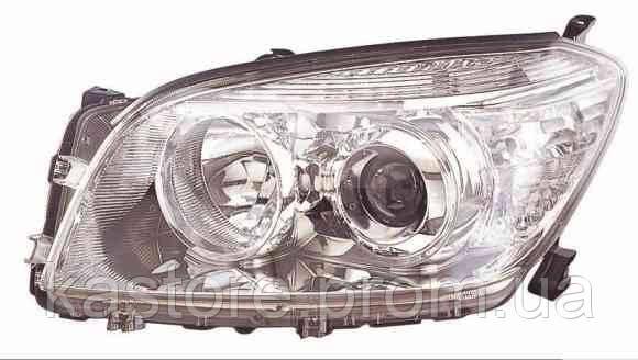 Фара передняя для Toyota Rav4 06-10 левая (DEPO) механическая/под электрокорректор