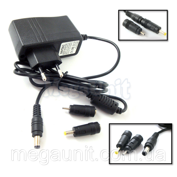 9В Зарядное для планшетов 9V 2A. 2,0мм/3,5мм