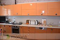 Кухня на заказ МДФ двухцветная глянец серии Глосс, фото 1
