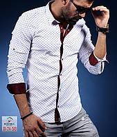 Рубашка мужская с длинным рукавом в разных расцветках, фото 1