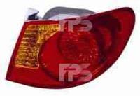 Фонарь задний для Hyundai Elantra HD 06-10 левый (DEPO) внешний