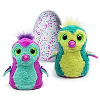 Spin Master Интерактивная игрушка Пингви в яйце пурпурный/бирюзовый Hatchimal Penguela Pink/Teal