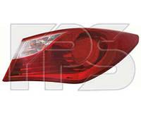 Фонарь задний для Hyundai Sonata 10- правый (FPS) внешний