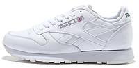 Мужские кроссовки Reebok Classic White Рибок белые
