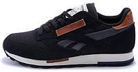 Мужские кроссовки Reebok Classic Рибок Классик черные