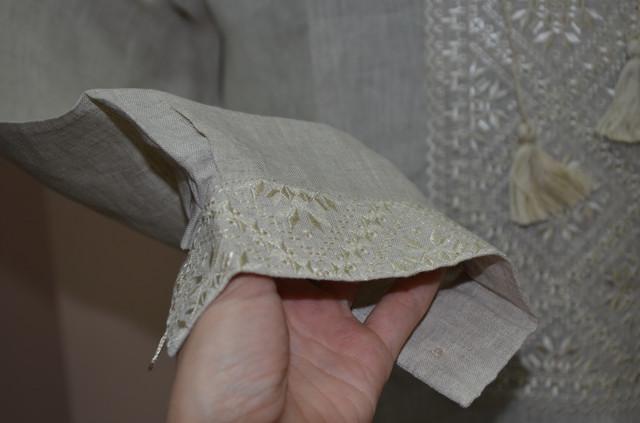 вышиванка мужская льняная