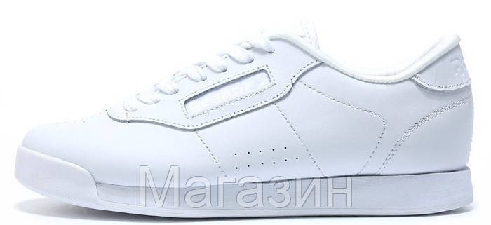 Мужские кроссовки Reebok Classic White Рибок Классик белые