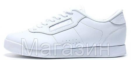 Мужские кроссовки Reebok Classic White Рибок Классик белые, фото 2