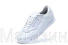 Мужские кроссовки Reebok Classic White Рибок Классик белые, фото 3