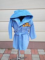 Детский махровый халат с вышивкой, фото 1