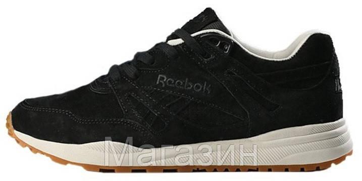 Мужские кроссовки Reebok Ventilator Black Рибок Вентилятор черные