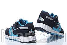 Мужские кроссовки Reebok Ventilator Рибок Вентилятор синие, фото 2