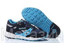 Мужские кроссовки Reebok Ventilator Рибок Вентилятор синие, фото 3