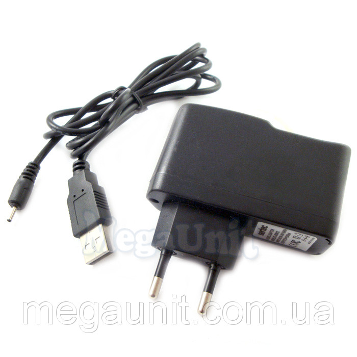 Зарядное для планшетов 5V 2A. 2,0мм штекер