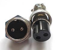 Разъем 2 контактный (2 pin) пара, оптом от 10 шт.