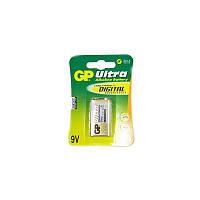 Батарейка GP 6LF22/ 6LR61U Krona 9V (GP1604AU-U1/ GP1604AUP-U1)