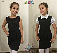 Школьные сарафаны +для девочек 655 (09)