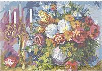 """Схема для вышивки бисером ЛВТ-4 """"Квіти і свічі"""""""