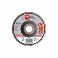 Диск шлифовальный лепестковый 125х22мм. к150 Intertool